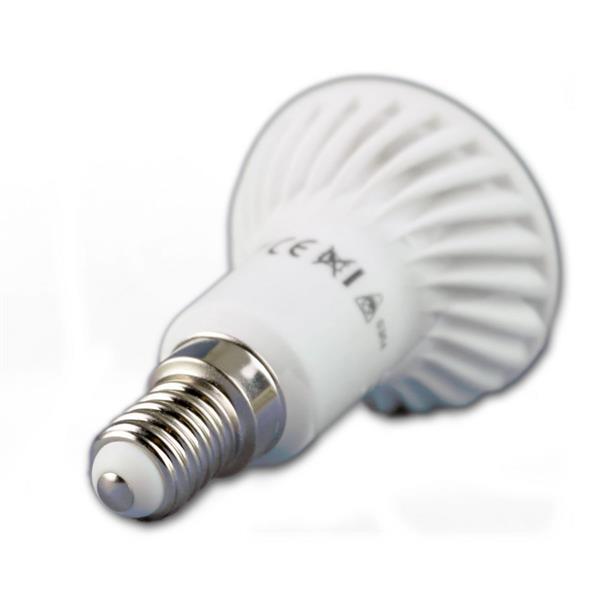 LED Reflektorleuchte Sockel E14 für 230V mit nur ca. 4W Verbrauch