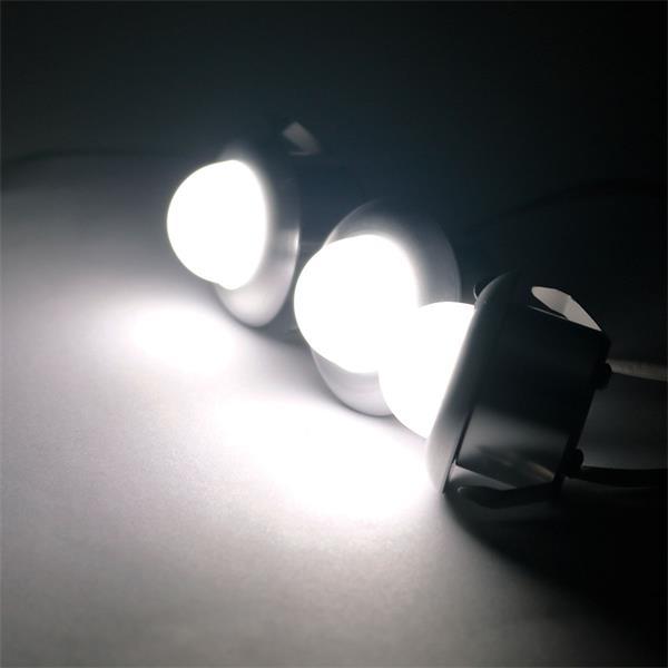 LED Strahler mit ca. 90lm Lichtstrom ideal für stilvolle Akzente