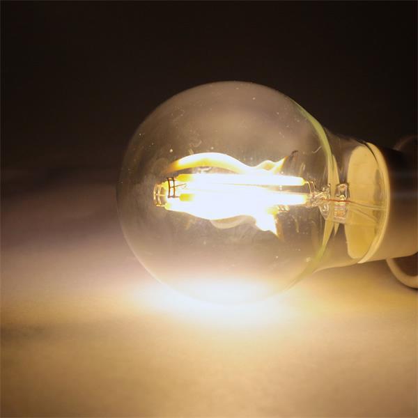 E27 LED Leuchtmittel Filament in warm weiß mit 360lm