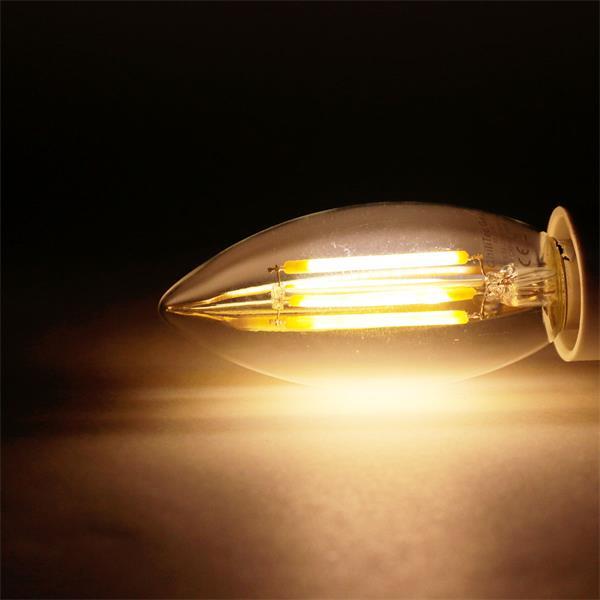 E14 LED Leuchtmittel mit unglaublichen 360° Leuchtwinkel und 360lm Lichtstrom