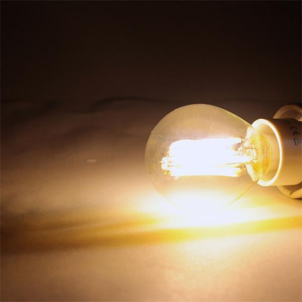 LED Leuchtmittel E14 mit 360° Leuchtwinkel und 360lm Lichtstrom