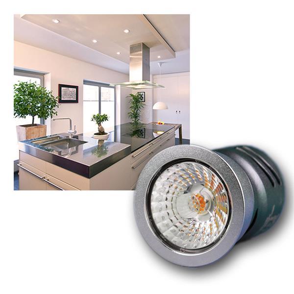 LED Einbauleuchte 10W 230V dimmbar warm weiß 600lm