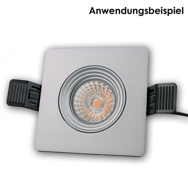 LED Spot Rahmen schwenkbar für das LEDON LED Downlight und dem Standard-Einbau-Ø von 68mm