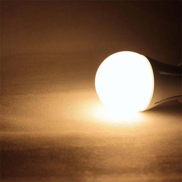 LED Leuchtmittel mit 480lm Lichtstrom und breiten 180° Abstrahlwinkel