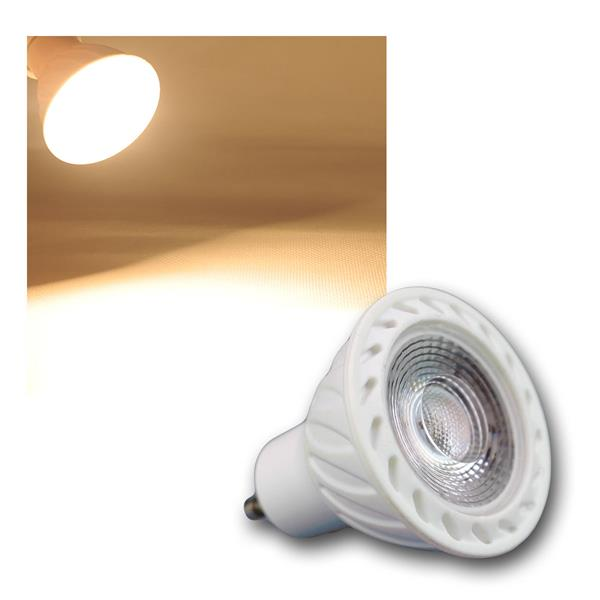 GU10 LED Strahler H60 COB 7W warm weiß 500lm