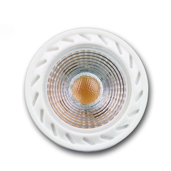 LED Leuchtmittel GU10 hat eine 7W Highpower COB LED mit hoher Leuchtkraft