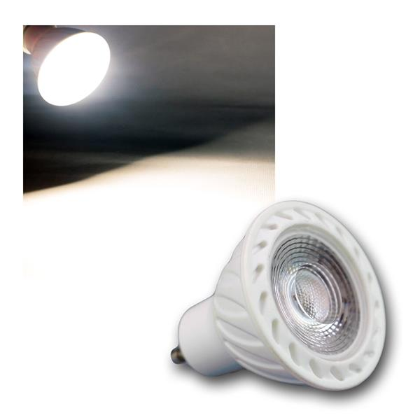 GU10 LED Strahler H60 COB 7W daylight 520lm