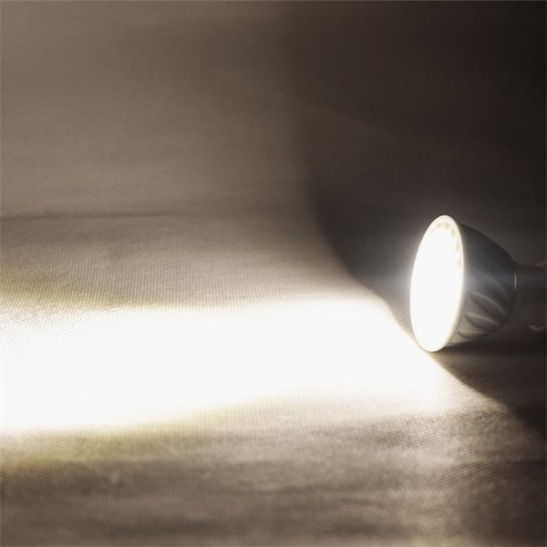 GU10 LED Spot mit unfassbaren 520lm Lichtstrom Alternative zu konventionellen 50W Strahlern