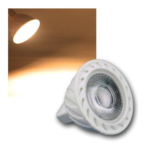 MR16 LED Strahler H60 COB 7W warm weiß 500lm