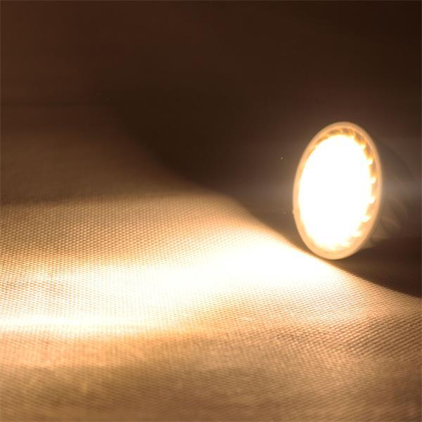 LED Leuchtmittel MR16 mit 500lm Lichtstrom ähnlich konventionellen 50W Strahlern