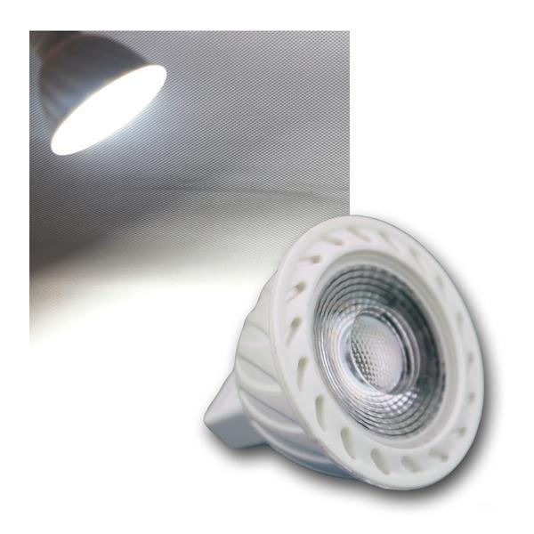 MR16 LED Strahler H60 COB 7W kalt weiß 520lm