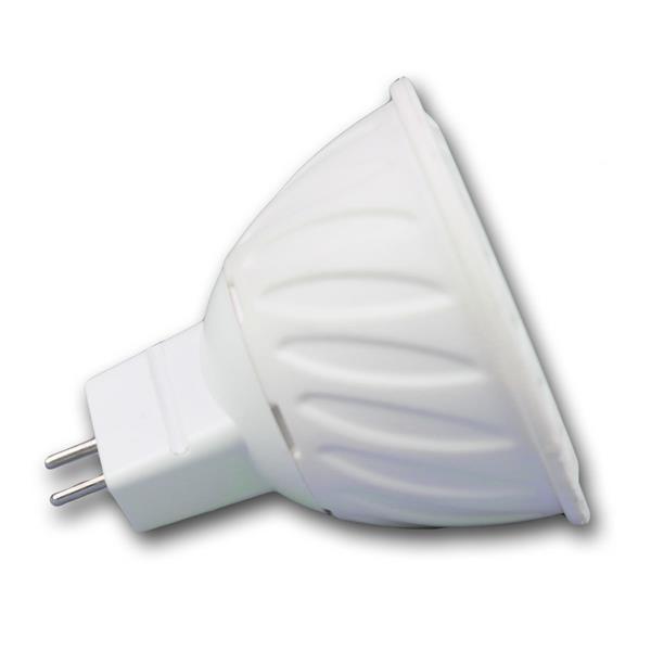 LED MR16 Energiesparleuchte COB mit dem Maß 50x52mm und stylischer Schutzglasabdeckung