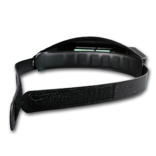 Stirnlupe mit verstellbaren Kopfband für festen Halt
