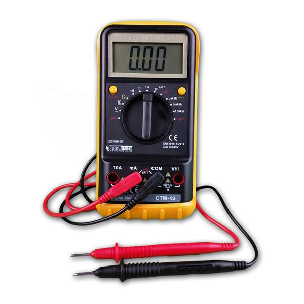 "Digital-Multimeter ""CTM-43 Big"" Hold-Funktion"