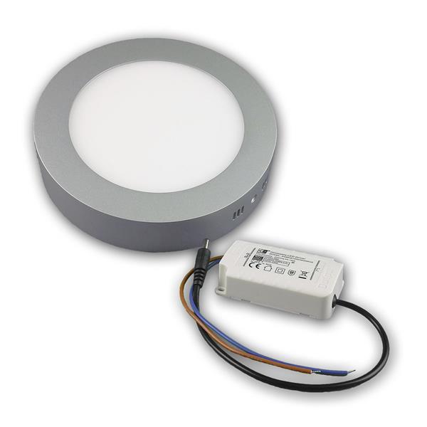 LED Flächenleuchte im Hightech-Design und mit sparsamer LED-Technik