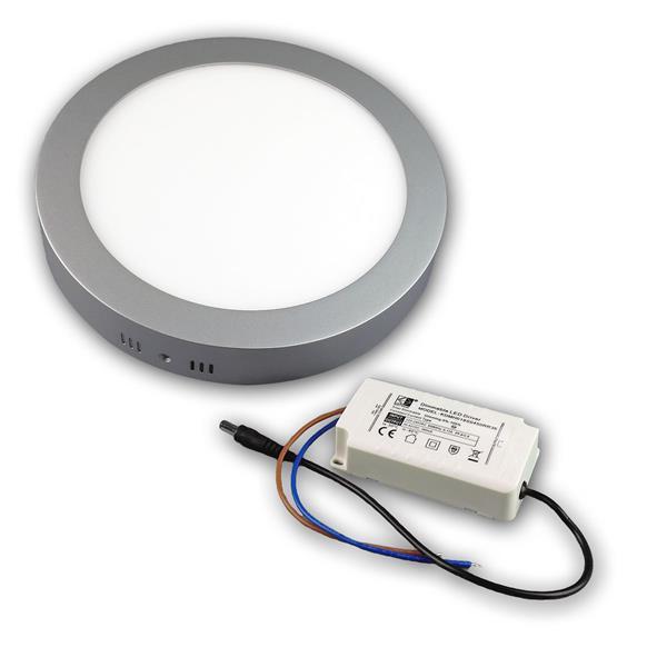 LED Flächenleuchte im Hightech-Design und mit sparsamer LED-Techni