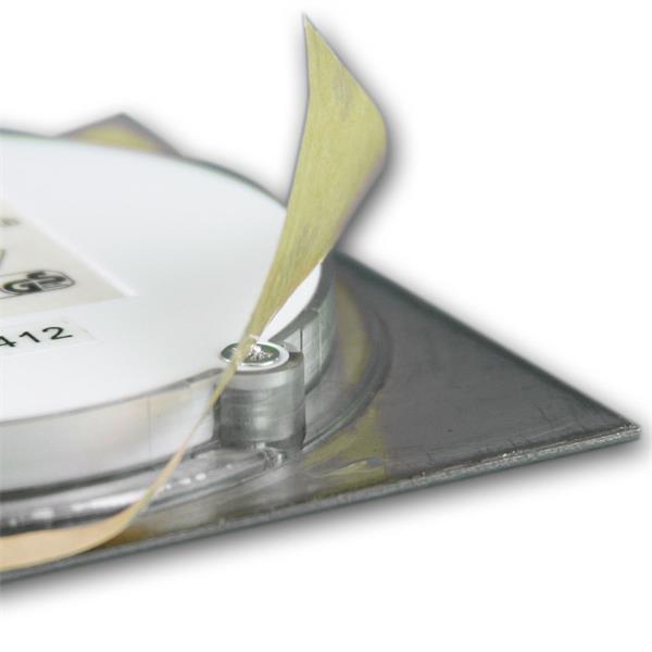 LED Downlight für 12V DC mit ca. 1,2W Verbrauch und nur 9mm Höhe