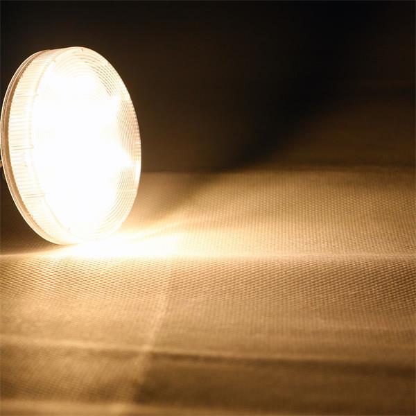 GX53 LED Lampe mit starken 220lm Lichtstrom und 120° Abstrahlwinkel