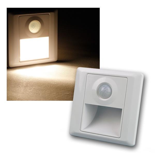 LED-Einbauleuchte EBL PIR warm weiß 25lm 230V