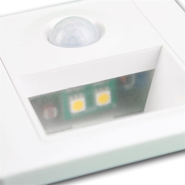 LED Wandeinbaustrahler mit 2 SMD-LEDs und ca. 25lm Lichtstrom