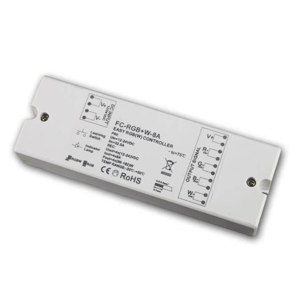 RGB+W Funk-Controller, Empfänger, max 4x8A, 12/24V