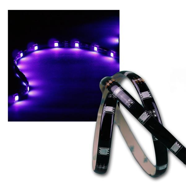"2m LED Stripe ""CLS-200UV"", 60x 5050 SMD UV LEDs"
