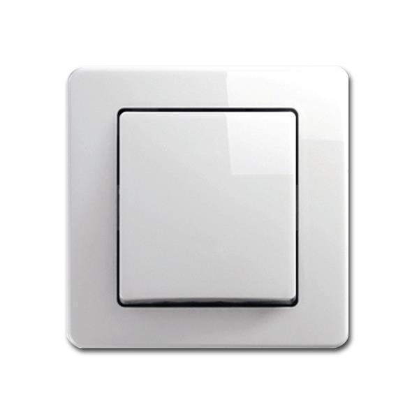 EKONOMIK Wechsel-Schalter, weiß, 250V~/10A, UP