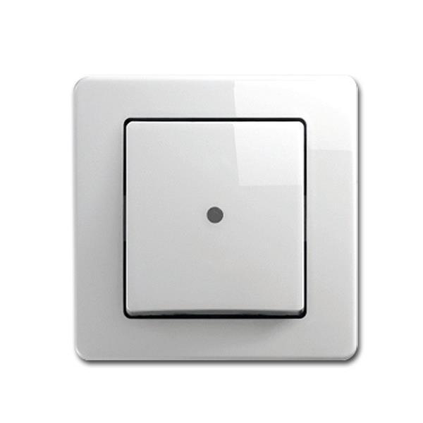 EKONOMIK Kontroll-Schalter, weiß, 250V~/10A, UP