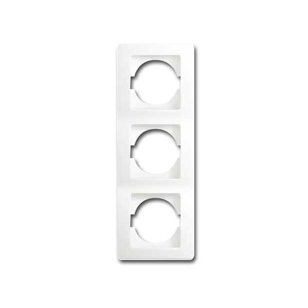 EKONOMIK 3-fach UP-Rahmen vertikal, weiß