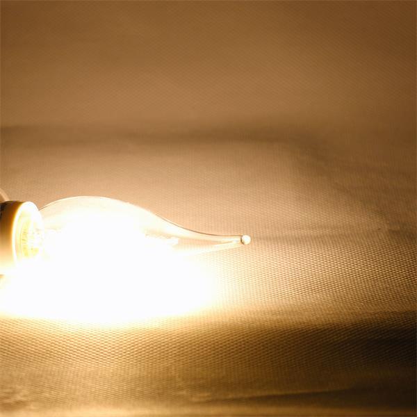 E14 LED Leuchtmittel mit 300° Leuchtwinkel und 200lm Lichtstrom