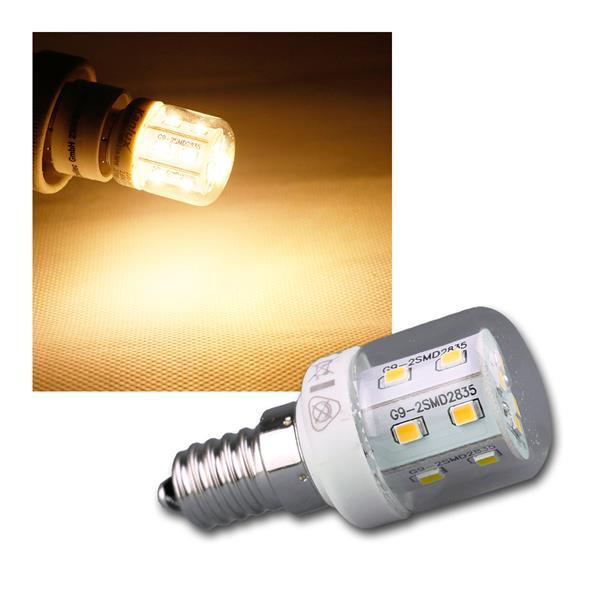 E14 LED-Kühlschranklampe 16 SMDs warmweiss 250lm