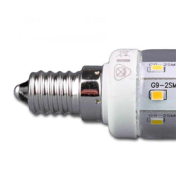 LED Strahler für den Kühlschrank Fassung E14 mit 16 lichtstarken SMD LEDs