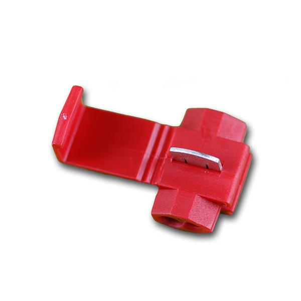 10 Klemmverbinder PVC-Isolation ROT 0,5-1,5mm²