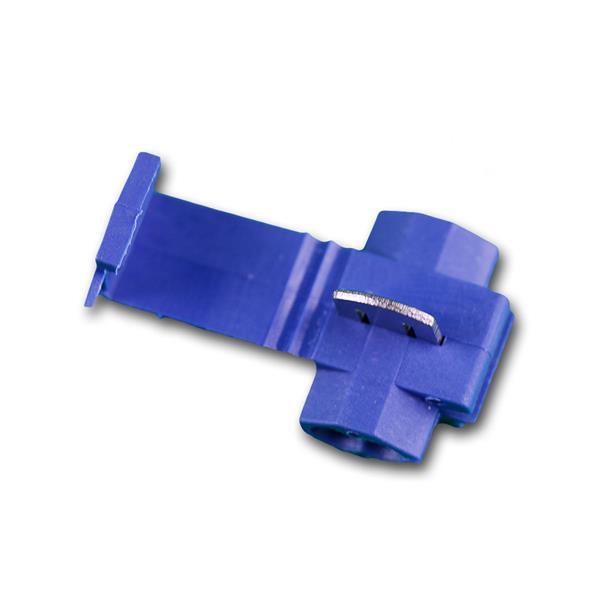 10 Klemmverbinder PVC-Isolation BLAU 1,5-2,5mm²