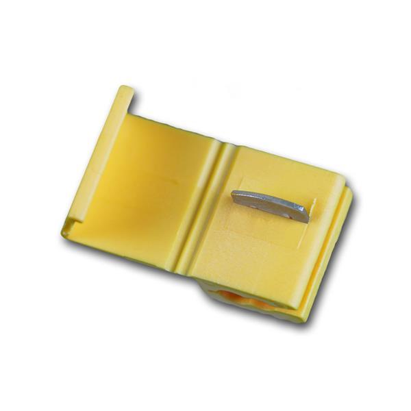 10 Klemmverbinder PVC-Isolation GELB 4-6mm²
