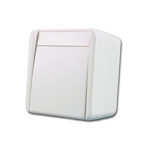 fontana Wechselschalter weiß, 250V~/10A, AP, IP44