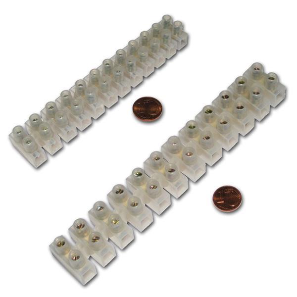 12-polige Lüsterklemmen für verschiedene Querschnitte