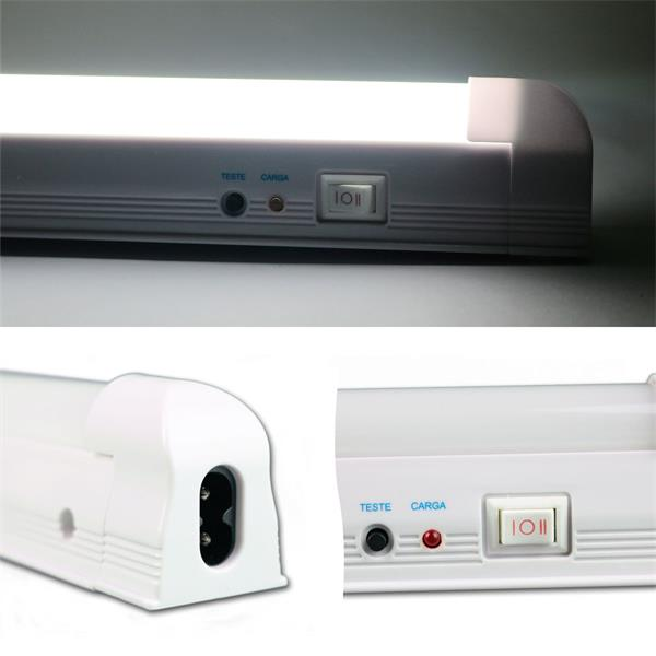 LED Notleuchte mit 30, 60 oder 90 kaltweißen LEDs