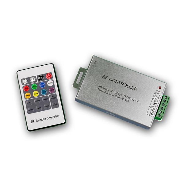 RGB LED Controller mit Funk-Fernbedienung, 3x4A