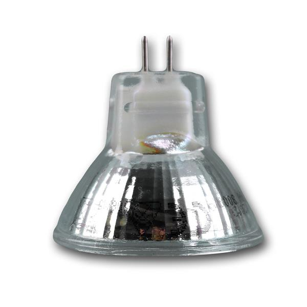 energiesparender LED Spot MR11 für 12V AC/DC und nur ca. 2W Verbrauch