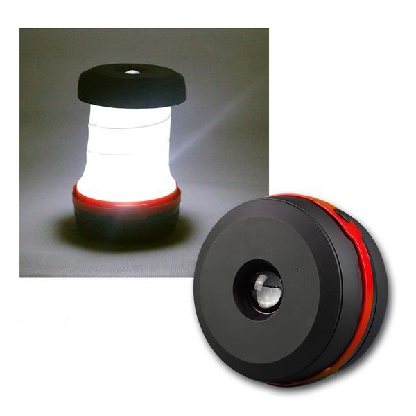 """Camping Leuchte """"CT-HL-1"""" 1W LED mit Klappbügel"""