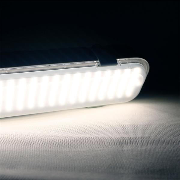 LED Wannenleuchte Leuchtfarbe neutralweiß mit 280 SMD LEDs