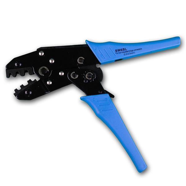 stabile Zange in kompakter Bauweise und ergonomischen Griff