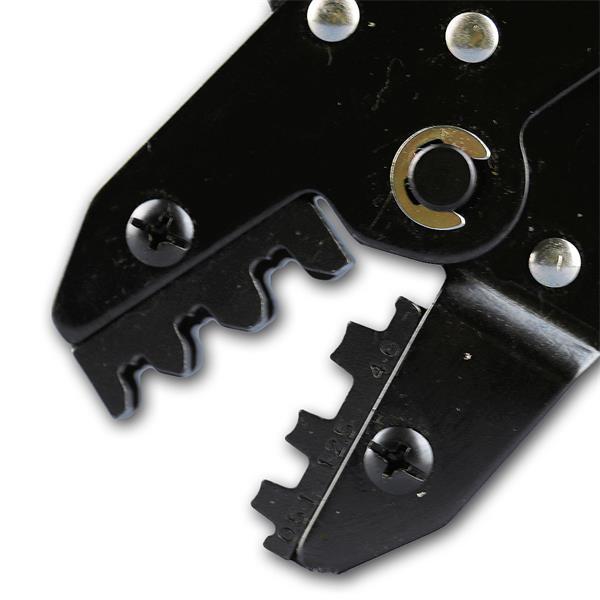 Profizange zum crimpen für unisolierte Stecker und Kabelschuhe