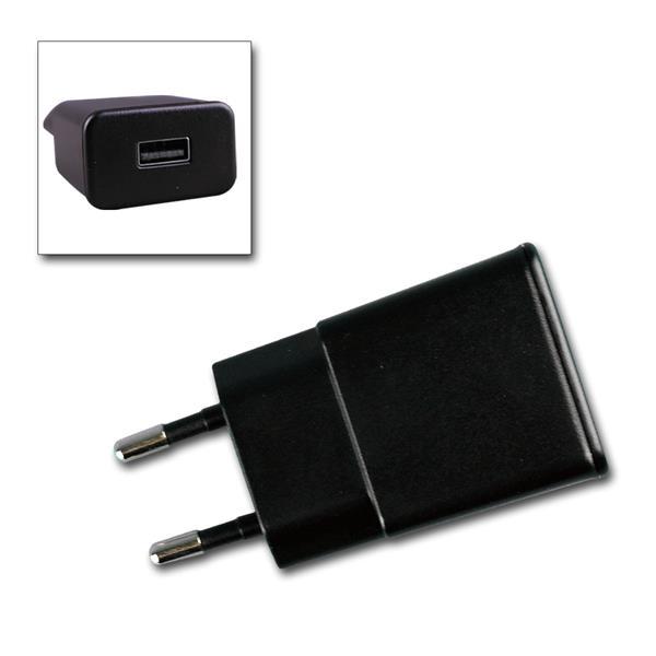 Stecker-Netzteil mit USB 5V=, 1A, 5W