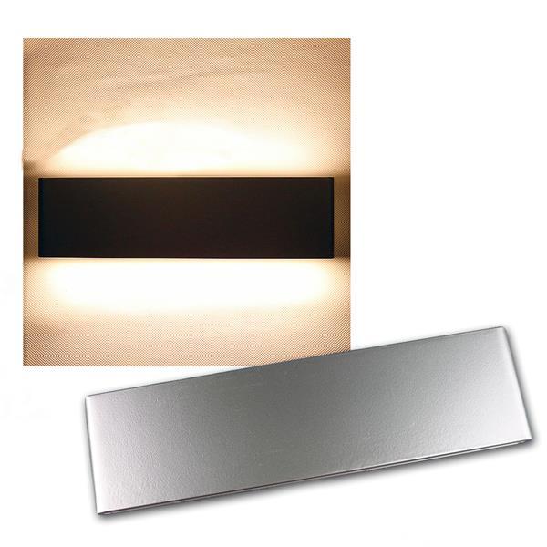 """LED Wandleuchte """"WL 212G"""" grau IP20 230V/12W 780lm"""