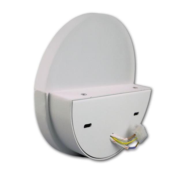 LED Strahler mit halbrunden Diffuser für gleichmäßige Abstrahlung