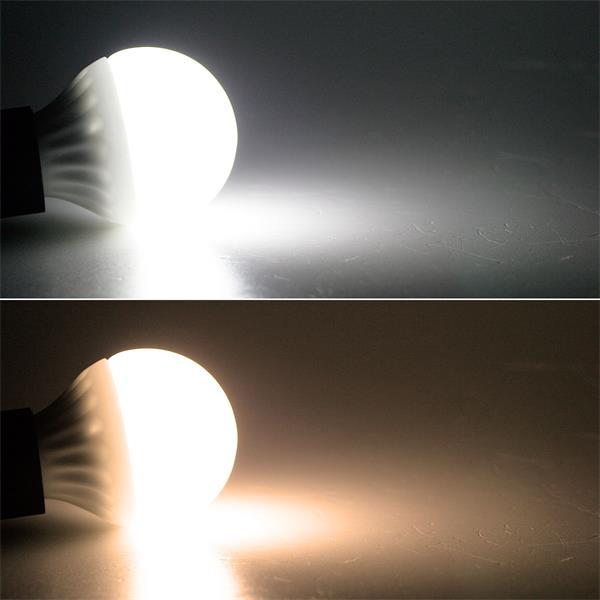 E14 Leuchtmittel leuchtet warm- oder kaltweiß