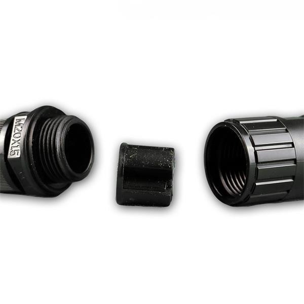 Dosenmuffe für Kabel-Durchmesser bis 12mm und Kabelquerschnitt bis 2,5mm²