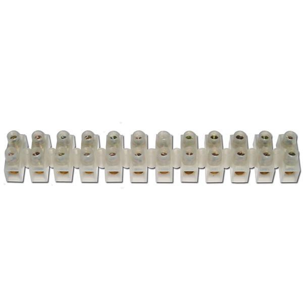 Lüsterklemmen, 1 Leiste à 12 Pole für 10,0-16,0mm²